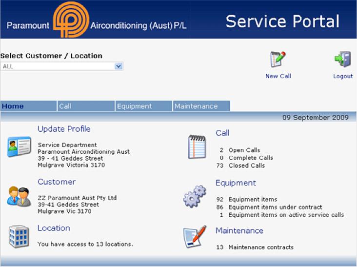 Customer Portal 1